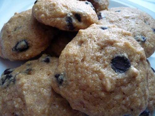 Veggie Burgher: Low-Fat Chocolate Chip Cookies