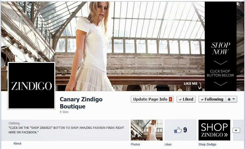 Canary Zindigo Boutique