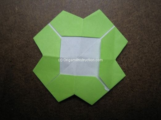 simple origami flower instructions