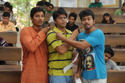 Nanban Movie Photos, Vijay Jeeva and Srikanth Tamil film