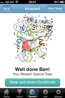 Nice Bear Naughty Bear iPhone / iPad App