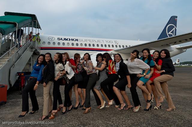 Foto Pramugari Yang Menjadi Korban Sukhoi Superjet 100