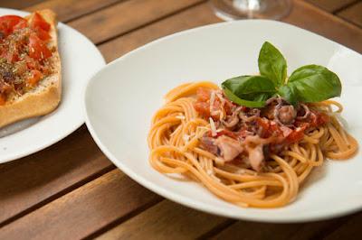 Rezept für Calamaretti in Tomatensoße