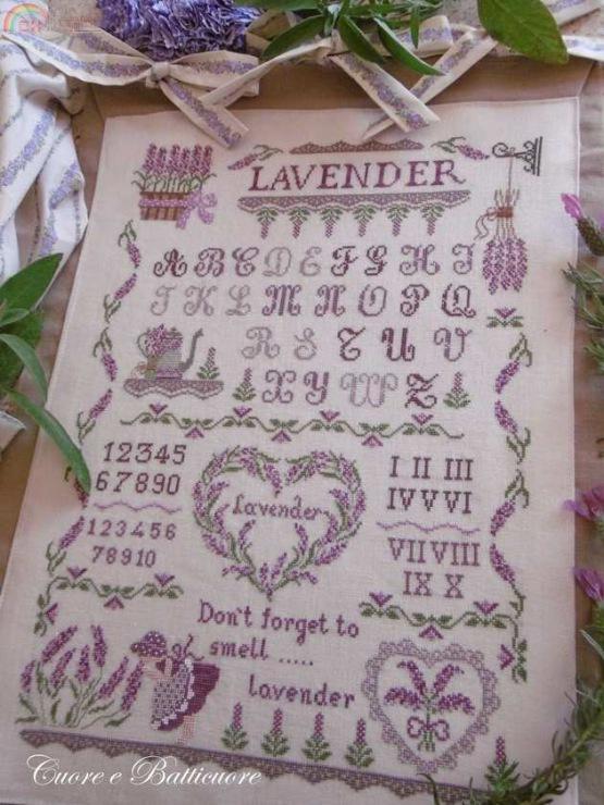 Lavender di Cuore e Batticuore