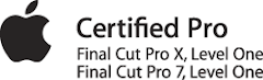 Certifié Final Cut Pro