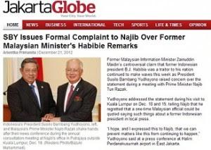Hina Habibie: Presiden Indonesia tolak alasan Najib Razak