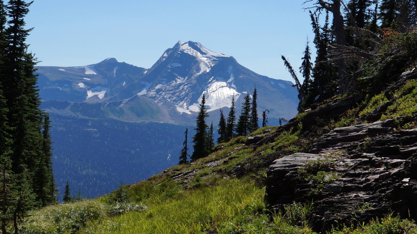 Smoky Scout 39 S Hiking Adventures Glacier National Park Highline Trail The Garden Wall
