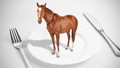 Il cavallo in tavola