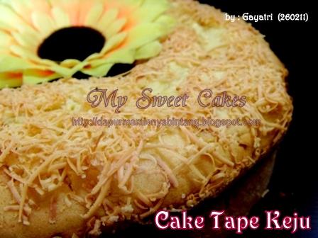 Cake Tape Keju Sweet Cakes