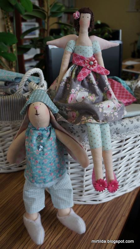 Мир кукол тильды