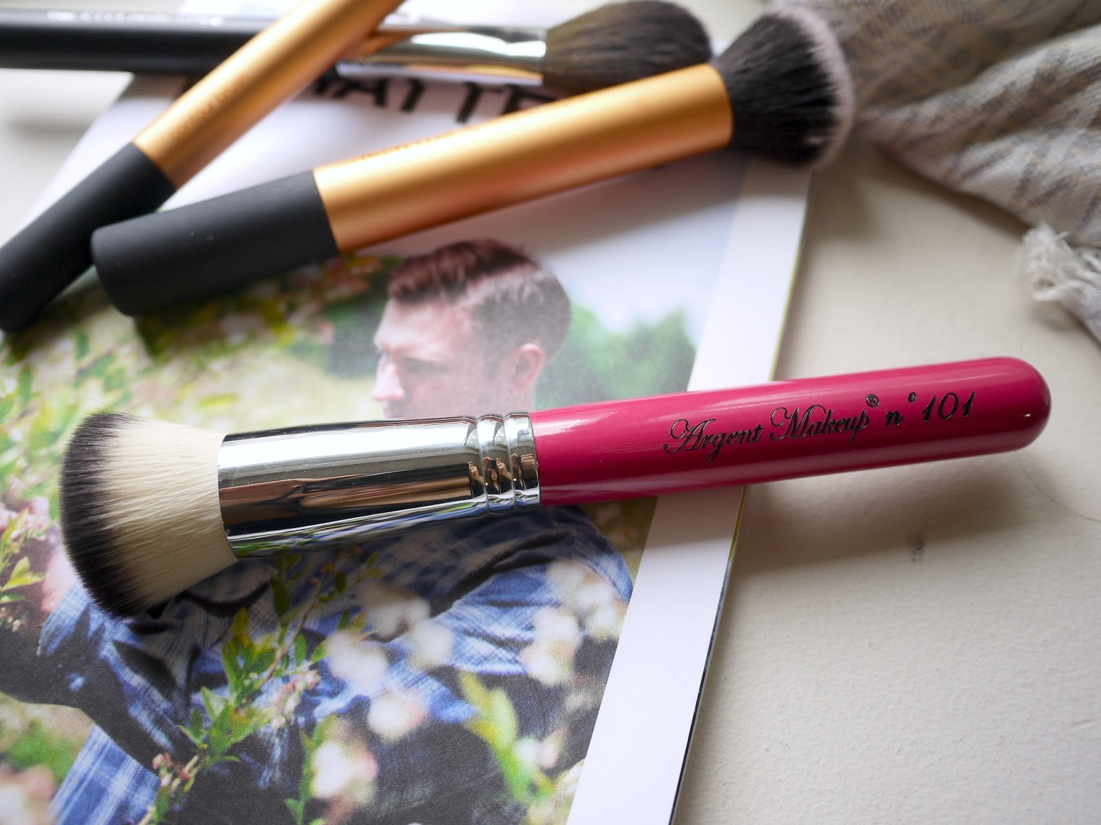 Argent Makeup Brush no.101 review