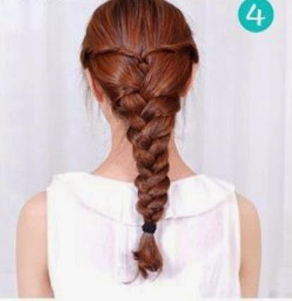 trenzas fciles para cabello largo