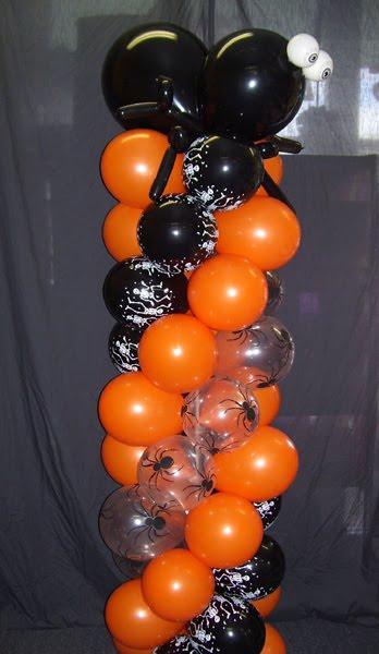 Mis detalles y mucho mas decoraciones de globos de halloween for Decoracion fiesta halloween