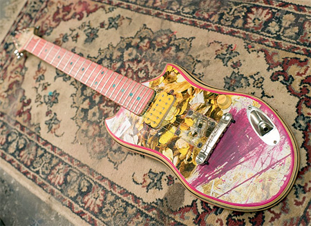 Unique guitars made by Ezequie | Skateboard Guitars Seen On www.coolpicturegallery.us