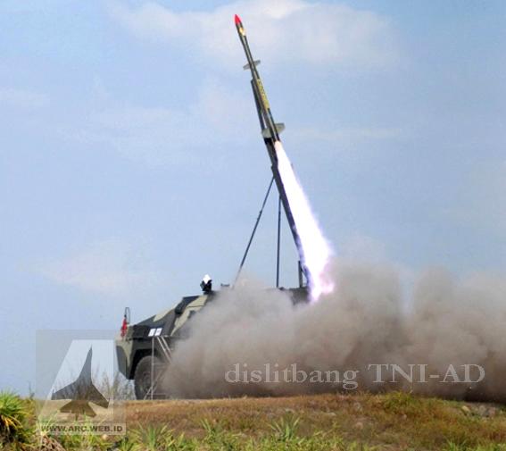 Secuil Kisah Roket TNI-AD