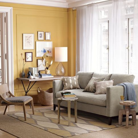 The top 100 benjamin moore paint colors south shore for White paint going yellow