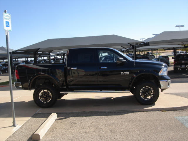 New 2013 Ram 1500 Lone Star Truck Crew Cab Lifted 4x4 Tdy