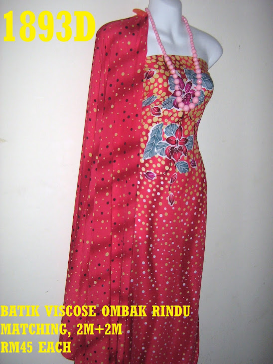 BVM 1893D: BATIK VISCOSE MATCHING, 2M+2M