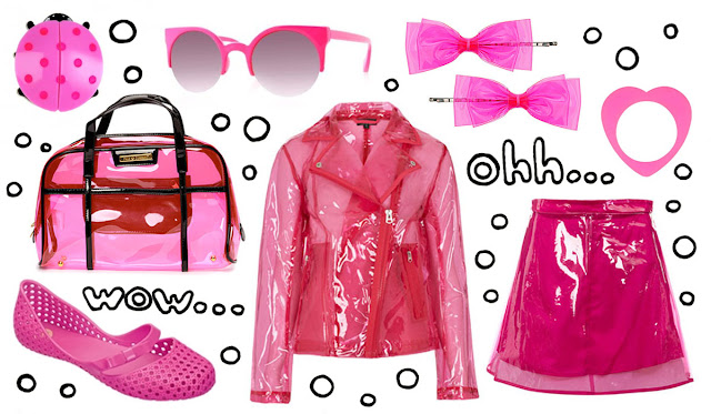 Pink, Plastic, Fashion, Topshop,