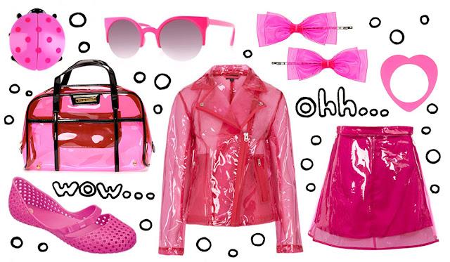 Pink, Plastic, Fashion, Topshop,