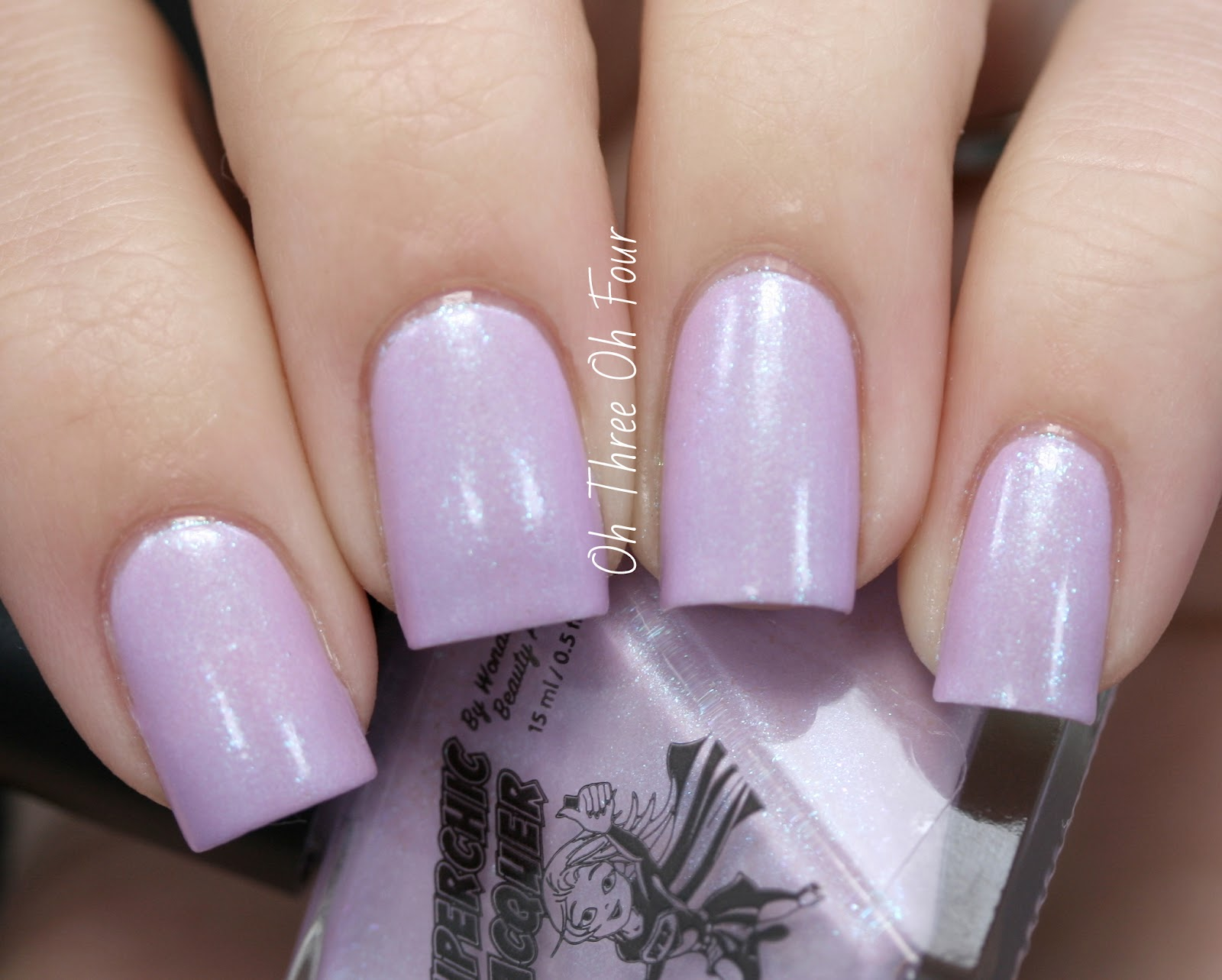 SuperChic Lacquer Shrinking Violet Swatch