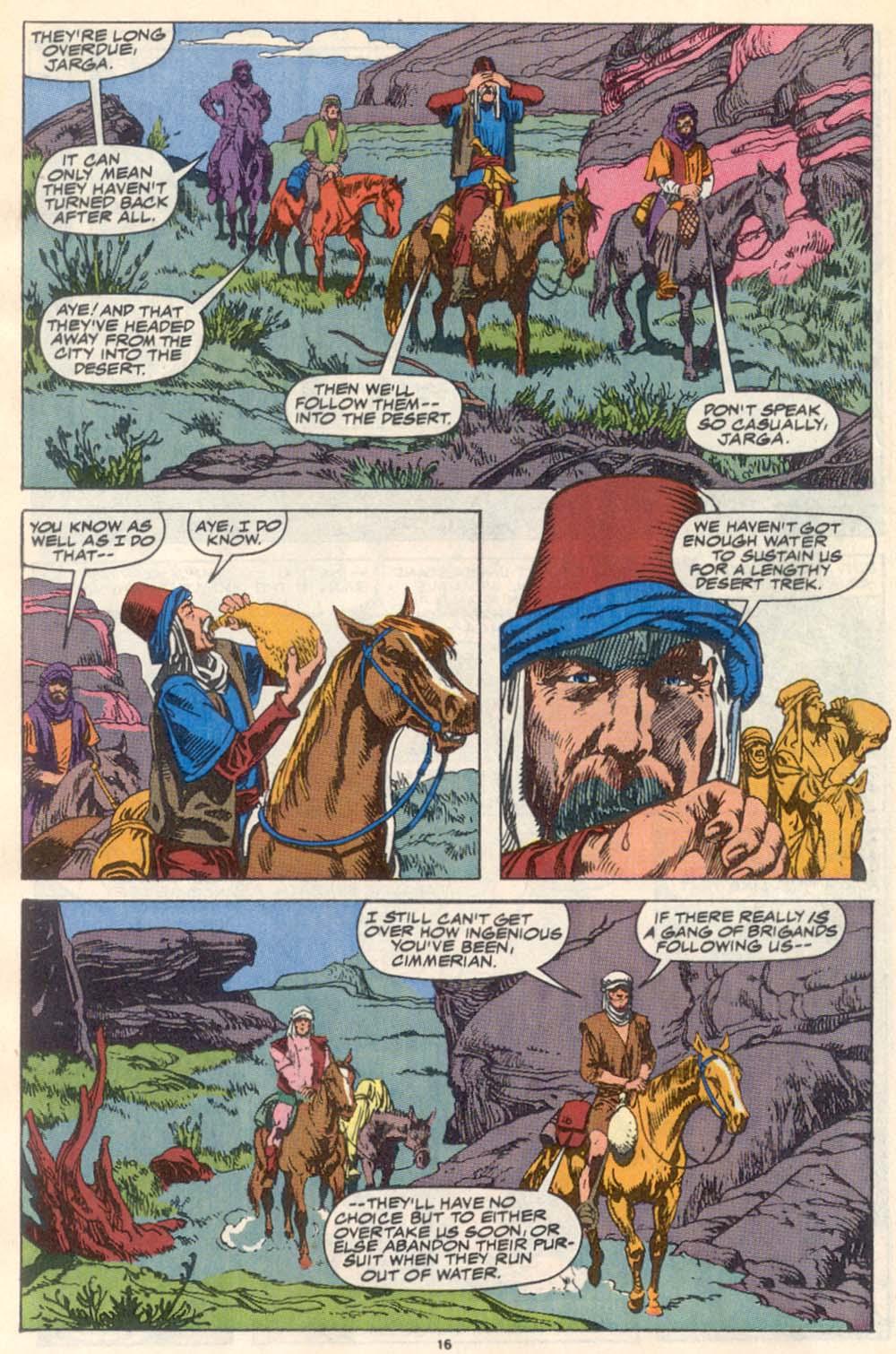 Conan the Barbarian (1970) Issue #223 #235 - English 13