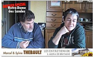 Sylvie et Marcel Thébault