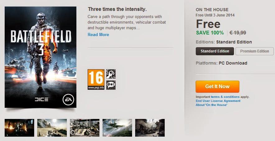 Battlefield 3 free ücretsiz