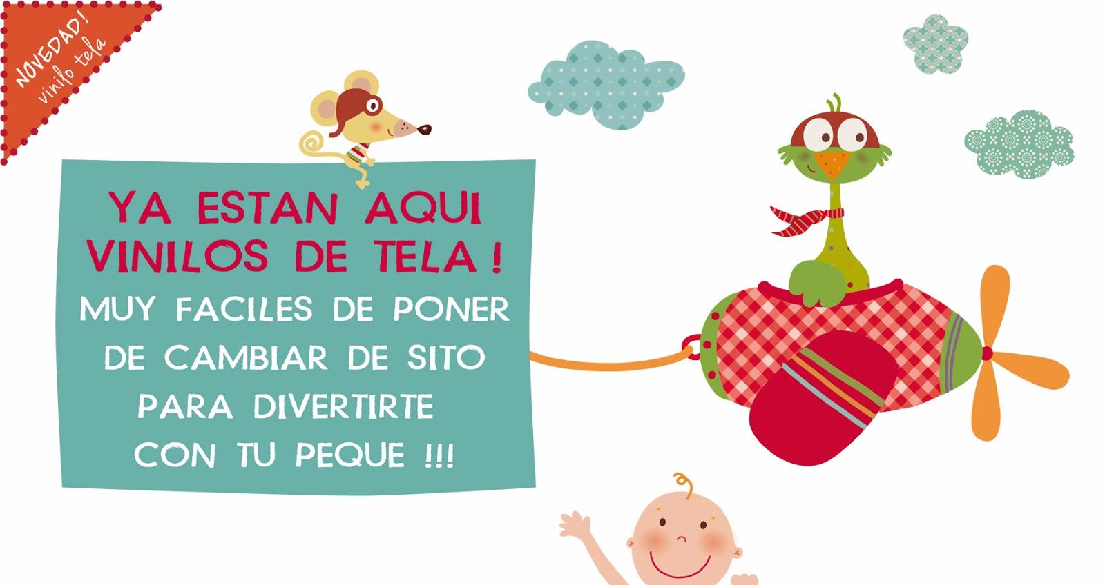 Vinilos infantiles noviembre 2013 - Vinilos de tela ...