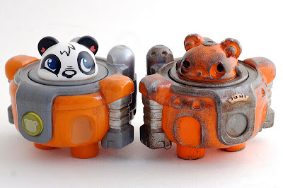 Podgy Panda x Cris Rose Podgonauts &amp; Ramsay Edition A Resin Figures