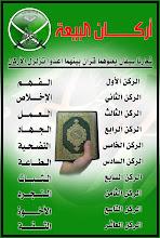 بيعتنا من اجل الدين .. من أجل حكم إسلامي شامل ..