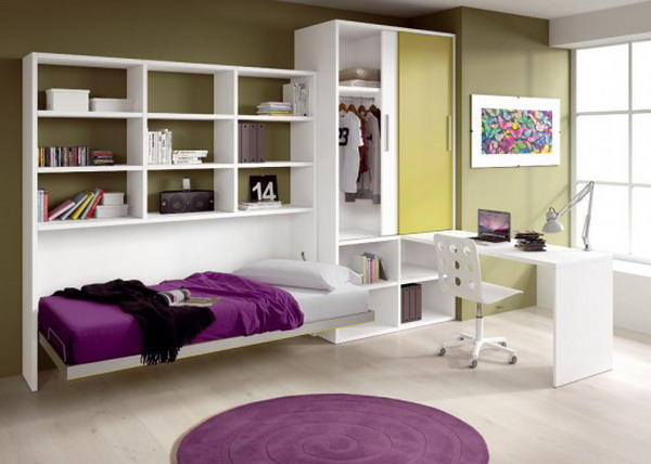 Bedroom Decoration with Storage