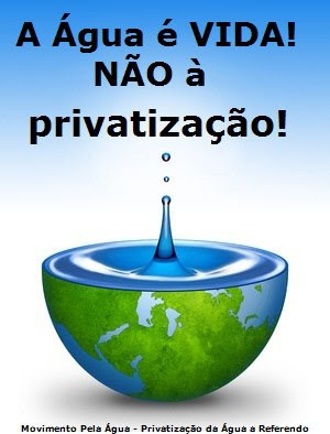 Petio Privatizao da gua a Referendo