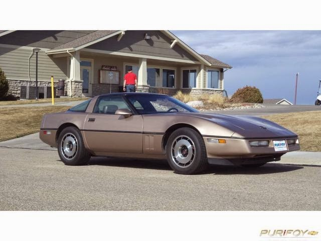 1984 Chevrolet Corvette at Purifoy Chevrolet