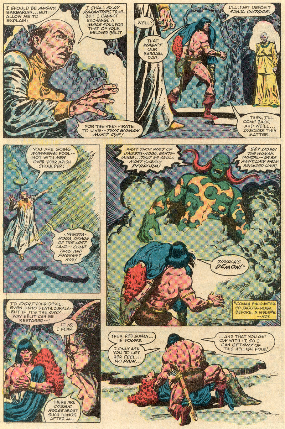 Conan the Barbarian (1970) Issue #115 #127 - English 23