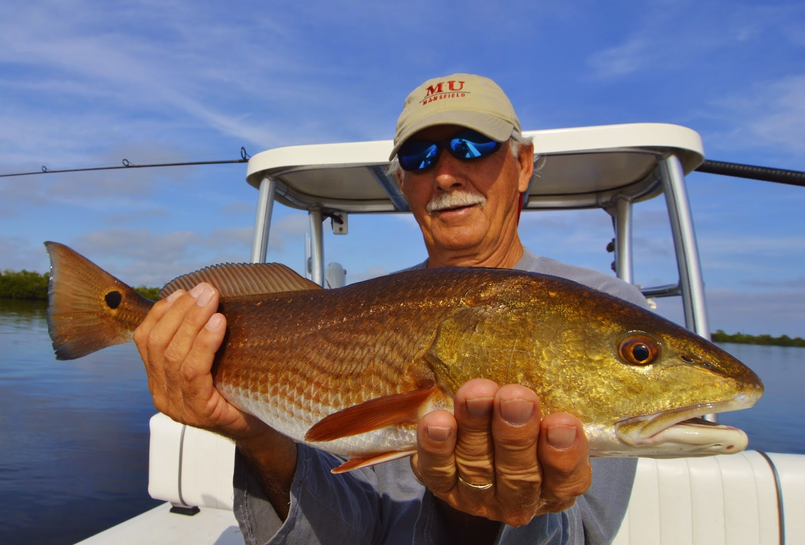 Matlacha Redfish on Light Tackle