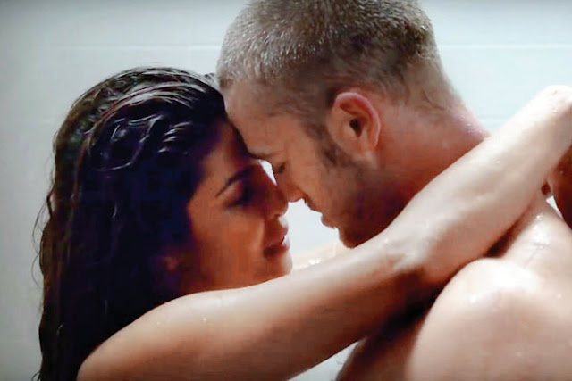 Eager to make her mark internationally Priyanka Chopra is going all out when it comes to enacting intimate scenes.  After the sex scene in car, Priyanka gets under a shower with her 'Quantico' co-star Jake McLaughlin.   Like the car sex, the shower steamy scene is also likely to get chopped on Indian TV.