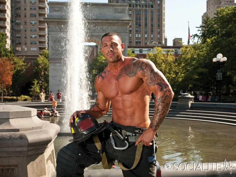 May Calendar New York City : Daily bodybuilding motivation firefighters calendar guys