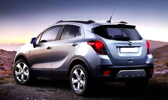 2016 Opel Mokka Specs