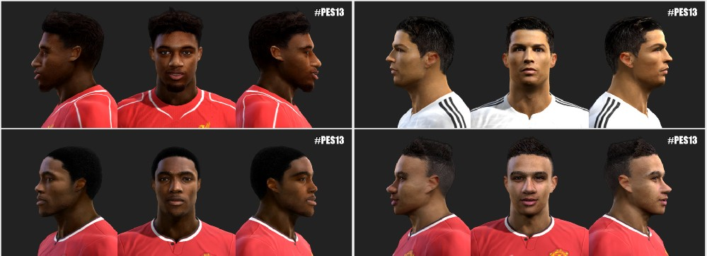 SANTARA PES: PES 2013 Faces Update #30/5/2015 by love01010100