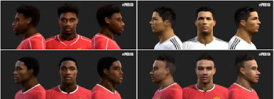 PES 2013 Faces Update #30/5/2015 by love01010100