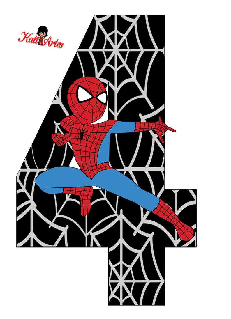 Alfabeto de spiderman con fondo negro oh my alfabetos - Images de spiderman ...