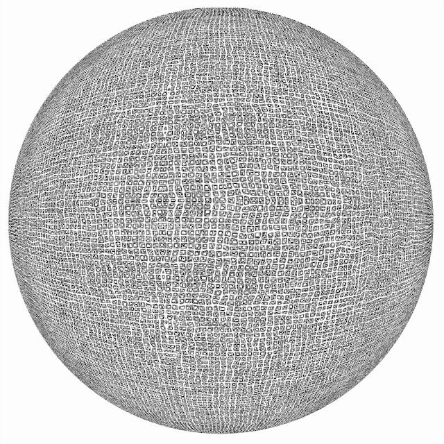 trama, tesela, tela, saco, esfera, Escher, dibujo