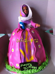 Labuan Cake - Barbie Cake without platform cake