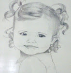 Child Portrait in Pencil