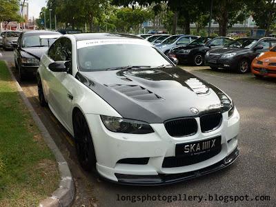 Modified BMW M3 E92
