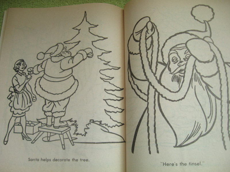 My Favorite Was The Twas Night Before Christmas Coloring Book I Received In Late 70s Simple And Sweet Joys Of Season