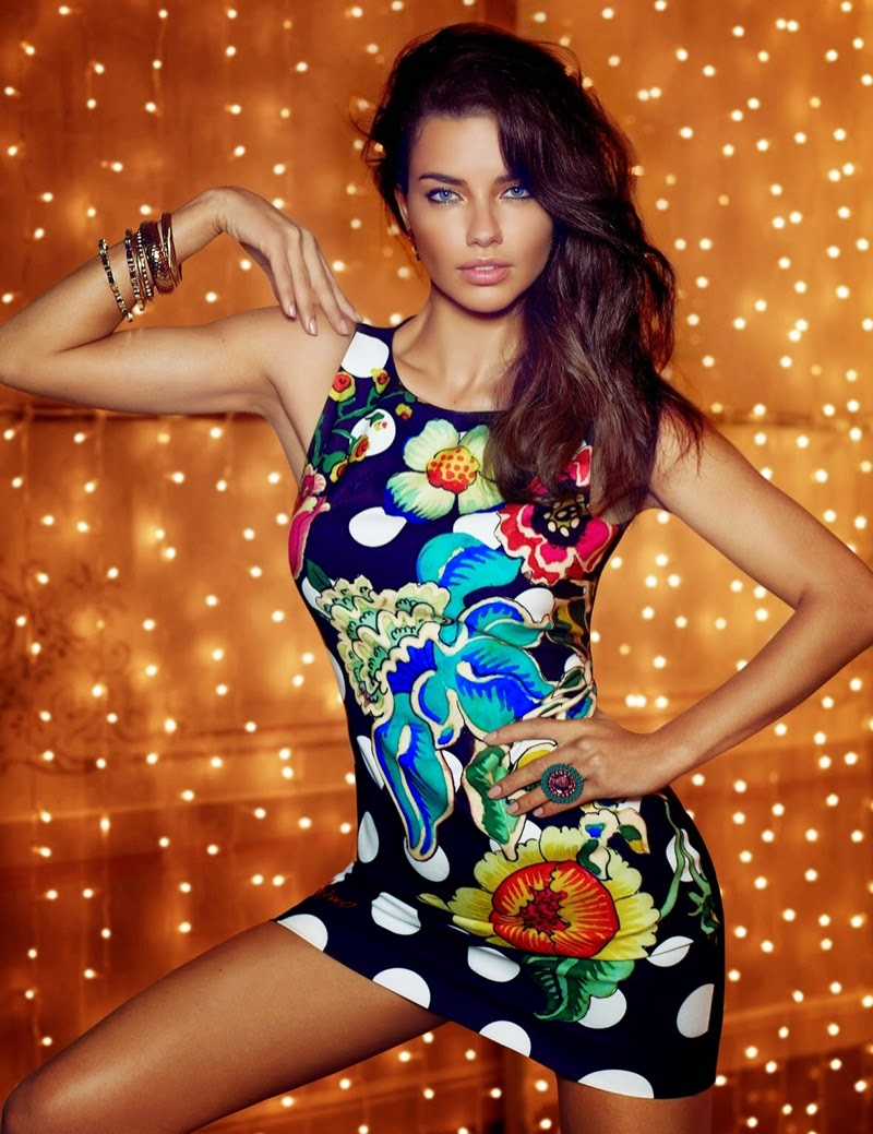 Lima adriana for desigual fall campaign pictures