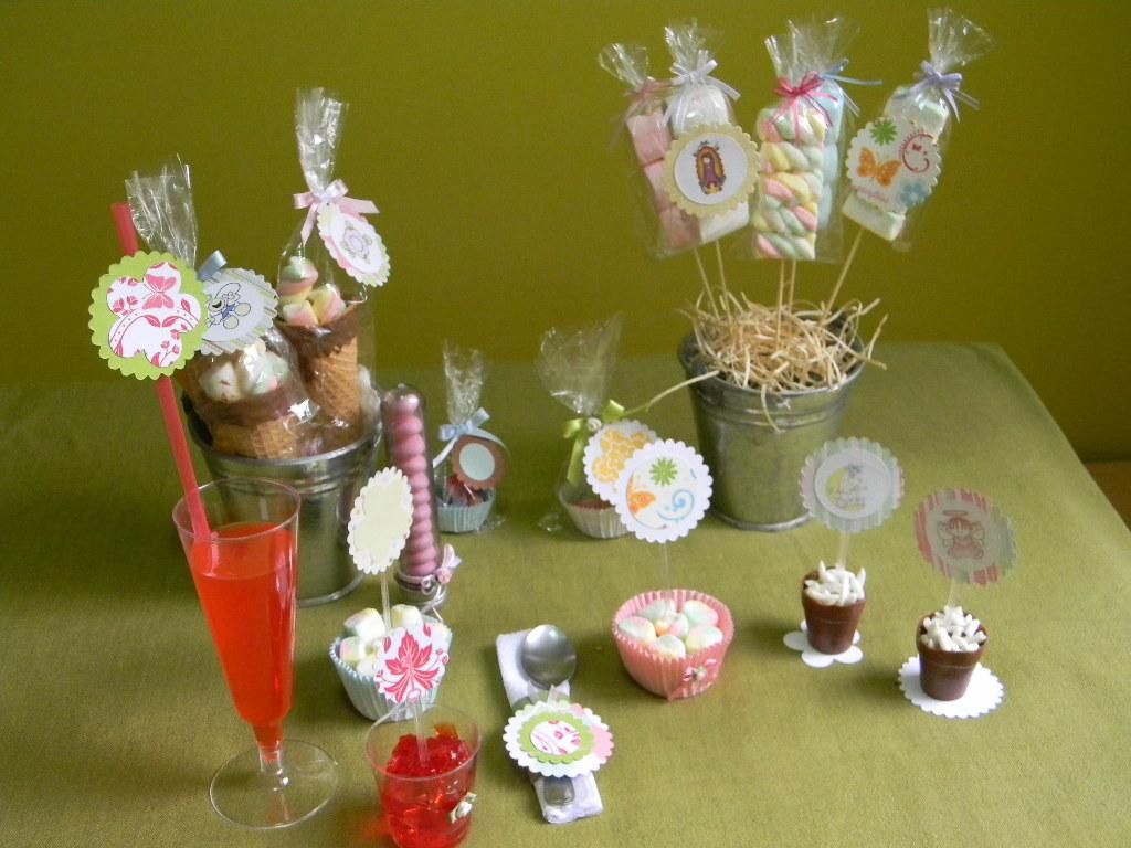 De mickey y minnie bebes para decoracin fiestas infantiles - Decorar mesas para fiestas ...