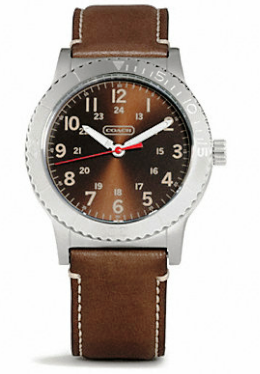 rnd authentics coach watches for men rivington stainless steel leather strap watch for men